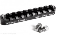 Wooden Camera 151400 Safety NATO Rail (100mm)
