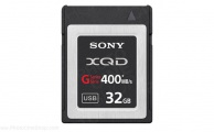 SONY - QDG32A - XQD G Series Memory Card 32Gb (400mb/s)