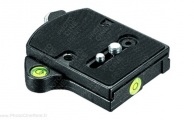 Manfrotto 394 Quick release plate adapter + spirit level