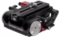 Wooden Camera - 15mm LWS Baseplate for Canon C70