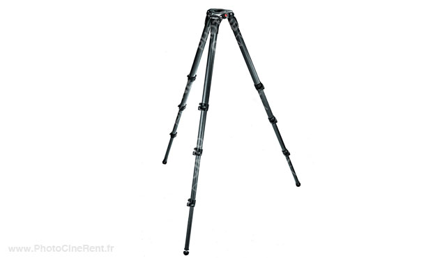 Manfrotto 536 3 Stage Carbone MPRO 75/100mm Video Tripod