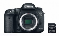 Canon EOS 7D Mark II (body only) + Adaptateur Wifi W-E1
