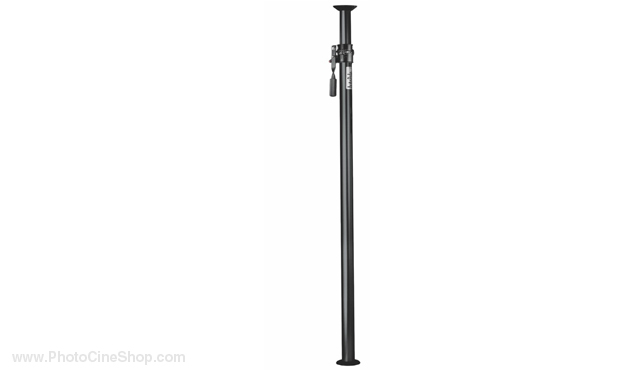 Manfrotto 032B Black autopole extends from 210cm to 370cm