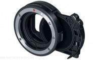 Canon - V-ND Drop-In Filter Mount Adapter EF-EOS R