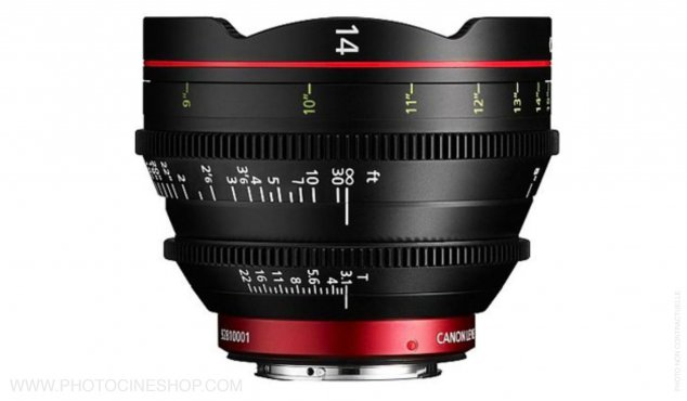 Canon CN-E 14mm T3.1 EF (meters)