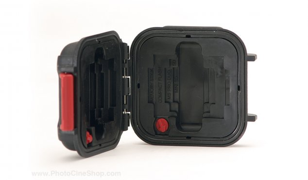 https://www.photocineshop.com/library/HPRC - Watertight Case 1100 for Memory Card - Black