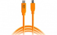 TETHERTOOLS - TetherPro USB-C to 5-Pin Mini-USB 2.0 (15' - Orange)