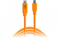 TETHERTOOLS - TetherPro USB-C to 5-Pin Micro-USB 2.0 (15' - Orange)
