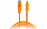 TETHERTOOLS - TetherPro USB-C to 8-Pin Mini-USB 2.0 (15' - Orange)