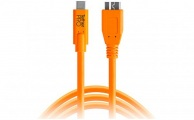 TETHERTOOLS - TetherPro USB-C to Micro-USB 3.0 (15' - Orange)