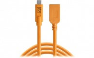 TETHERTOOLS - TetherPro USB-C to USB-A Female Adapter (15' - Orange)