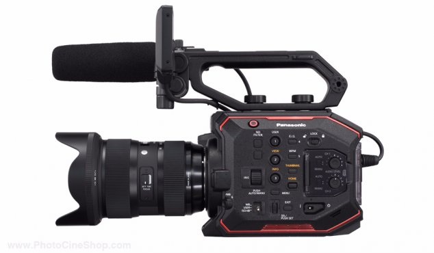 https://www.photocineshop.com/library/SPECIAL OFFER! Panasonic - AU-EVA1 - Compact 5.7K Super 35mm Cinema Camera +  SONY SD 128 GB Pro, Tough 18x stronger - UHS-II R300 W299 - V90