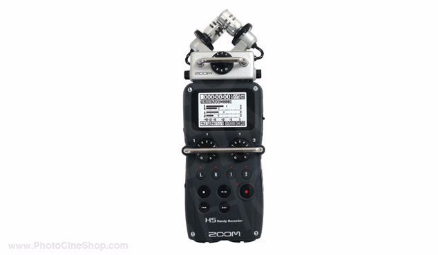 Zoom - H5 Handy Recorder with Interchangeable Microphone System