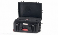 HPRC - Wheeled Case 2600W with Bag and Dividers - Black