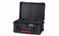 HPRC - Wheeled Case 2760W with 2 Bags and Dividers - Black