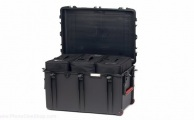 HPRC - Wheeled Case 2800W with 3 Bags and Dividers - Black