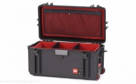 HPRC - Wheeled Case 4300W with Soft Deck and Dividers - Black