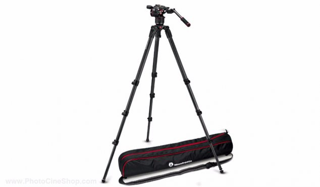 Manfrotto - MVKN8CTALL - Tripod 536 MPRO and Video head N8 kit