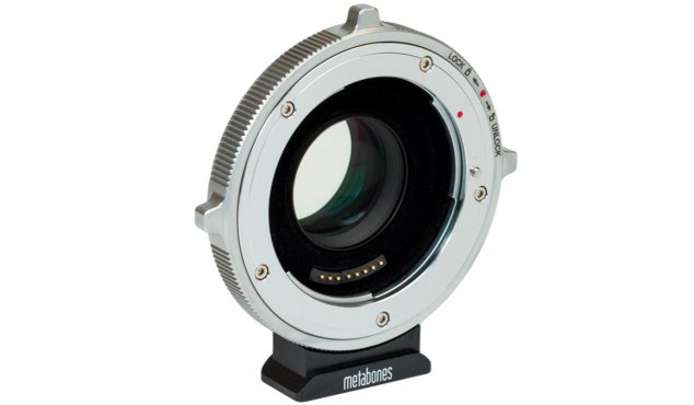 METABONES - T CINE Speed Booster ULTRA 0.71x Adaptateur Canon EF Lens to BMPCC 4K Camera