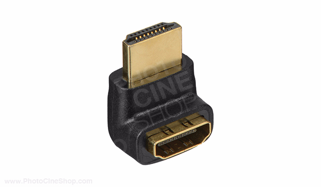 SMALL HD M-F Right Angle HDMI Adapter