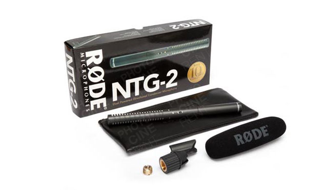 Røde NTG2 Multi-Powered Condenser Shotgun Microphone