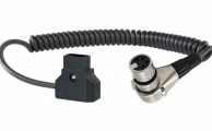 SHAPE - D-Tap to 4-Pin XLR Coiled Cable