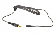SONY - Miniature Omnidirectional Lavalier Microphone with Locking Sony 3.5mm Connector (Black)