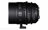 Sigma - Objectif Cine High Speed Plein Format 40mm T1.5 - PL Mount