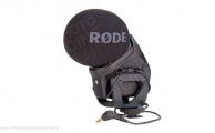Røde STEREO VIDEOMIC PRO Microphone sur camera