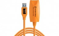 TETHERTOOLS - TetherPro USB 3.0 Active Extension Cable (16' - Orange)