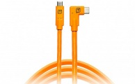 TETHERTOOLS - TetherPro USB-C to USB-C Right Angle (15' - Orange)