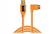 TETHERTOOLS - TetherPro USB 3.0 Type-A to Micro-USB Right Angle (15' - Orange)